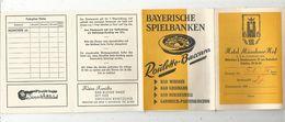 Publicité , Allemagne , MÜNCHEN , MUNICH , HOTEL MÜNCHNER HOF , 8 Pages , 2 Scans - Advertising