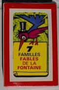 Jeu De Cartes 7 Familles Ancien 1979 FABLES De LA FONTAINE Carte Famille Renard Chat Corbeau Lion Rat Fourmi Cigale - Autres Collections