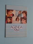 Agenda 1984 ( Roger OUVRARD Coiffure Dames Pauline Bazin à TOURS / Agenda Livret Complet) !! - Calendars