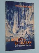 Les Grottes De BETHARRAM Merveille Souterraine ( Folder / Pliant : Voir Photo ) Imp. Princeps ! - Dépliants Touristiques