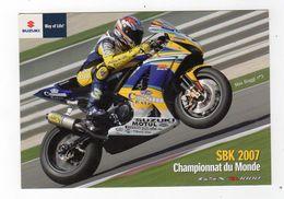 Aot17  79016  Championnat Du Monde SBK 2007  Max Biaggi - Sport Moto