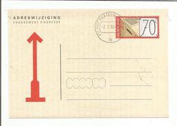 PAYS BAS CARTE POUR CHANGEMENT D'ADRESSE1993 - Postal History