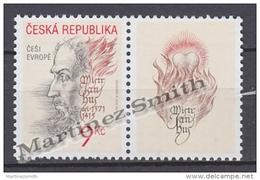 Czech Republic - Tcheque 2002 Yvert 304, Jan Hus Portrait - MNH - Tchéquie