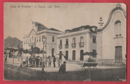 Cape Vert / Cabo Verde - Largo Da Praçinha - S. Viçente - 1922 ( Voir Verso ) - Cap Vert
