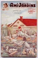 L'AMI DES JARDINS LOT DE 2 REVUES 1949-1951 . Le Livre 1949 La Couverture Est Détachée; Celui De 1951 En Bon état - Garden