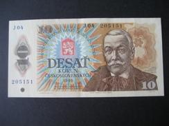Tschechoslowakei 10 Kronen 1986 Nr. 205151 - Tchécoslovaquie