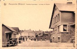 Macquenoise - Frontière Franco-belge - Le Bureau De Douane (animée, Oldtimer) - Momignies