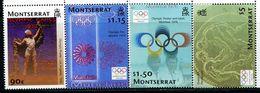 AT3527 Montserrat 2004 Athens Olympic Games 4V MNH - Summer 2004: Athens - Paralympic