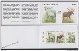 Czech Republic - Tcheque 1998 Yvert C175 (Tipe II) Protection Of Nature, Rare Animals - Booklet - MNH - Czech Republic