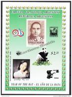 Argentina 1996 BF Miniature Sheet - Year Of The Rat, Panda Bear - China - MNH - Neufs