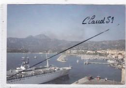 """CALVI (20)(2B) Départ Du Bateau """"Le Provence""""(carte Toilée) - Calvi"""