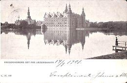 Frederiksborg Set Fra Jaegerbakken (1901, To Brussels) - Danemark