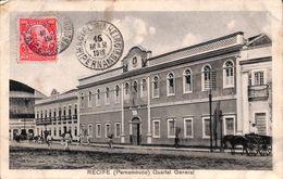 Brazil - Recife (Pernambuco) Quartel General (animation, 1912) - Recife