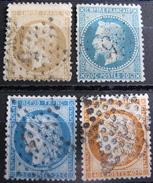 LOT R1631/1679 - ETOILES N°5 DE PARIS - LOT DE TIMBRES CLASSIQUES - Tous états - Cote : 32,00 € Hors Oblitérations - 1871-1875 Ceres