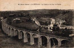 HAUTE VIENNE -86- ST LEONARD LE VIADUC ET LE PONT DE NOBLAT - Saint Leonard De Noblat