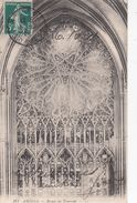 Cp , 80 , AMIENS , Rosace Du Transept - Amiens