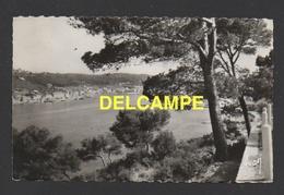 DF / 83 VAR / SAINT-MANDRIER-SUR-MER / ARRIVÉE SUR SAINT-MANDRIER / CIRCULÉE EN 1962 - Saint-Mandrier-sur-Mer
