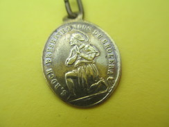 Médaille Religieuse Ancienne/Saint ROCH  Préservez Nous Du Choléra/Saint Hubert/Mi XIXéme Siécle        CAN514 - Religión & Esoterismo