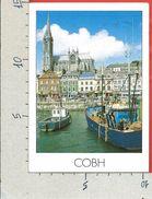 CARTOLINA VG IRLANDA - COBH - Porto E Cattedrale - 10 X 15 - ANN. 2004 - Cork
