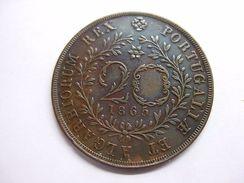AZORES 20 REIS 1865 - Azores