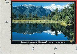 CARTOLINA VG NUOVA ZELANDA - WESTLAND - Lake Matheson - 10 X 15 - ANN. 2003 - Nuova Zelanda