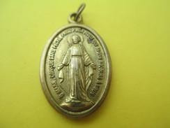 Médaille Religieuse Ancienne/O Marie/ / Début  XXéme Siécle      CAN516 - Religión & Esoterismo