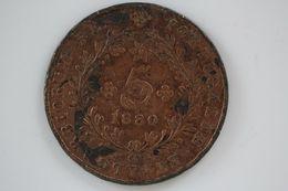 AZORES 5 REIS 1880 - Açores