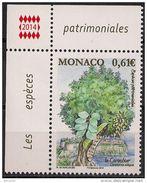Monaco 2015   Caroubier    N° 2937  Neuf  X X   MNH - Unused Stamps