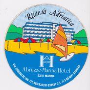 ADESIVO AUTOCOLLANT PUBBLICITARIO Riviera Adriatica Hotel Abruzzo Marina Silvi - Hotel Labels
