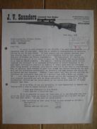 VICTORIA (AUSTRALIA) 1968 - J.V. SAUNDERS - Licensed Gun Dealer - Australia