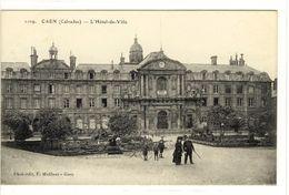 Carte Postale Ancienne Caen - L'Hôtel De Ville - Mairie - Caen