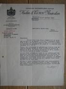 NAARDEN (HOLLAND) 1938 - KUHN & C° - Koninklyke Beetwortelzaad-cultuur - Pays-Bas