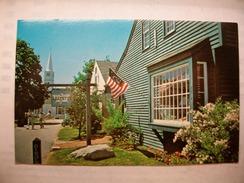 Carte Postale Etats Unis The Bathtub - Olde Mistick Village - Mystic,Conn.  (Petit Format Couleur Circulée  ) - Etats-Unis