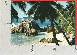 CARTOLINA VG SEYCHELLES - Isola La Digue - 10 X 15 - ANN. 1974 - Seychelles