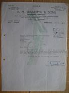 RAWALPINDI - PESHAWAR (PAKISTAN) 1961 - A.M. IBRAHIMJI & SONS - Arms And Ammunitions Dealers, Small-arms Manufacturers - Autres