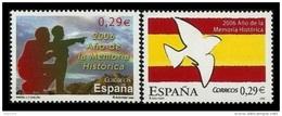 ESPAÑA 2006 -  AÑO DE LA MEMORIA HISTORICA - Edifil Nº 4286-4287 - 1931-Oggi: 2. Rep. - ... Juan Carlos I
