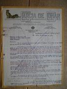SAO PAULO 1928 - GARCIA DE GOMAR - Importador-exportador Armas-municiones-cutelarias - Tiger - Tigre - Factures & Documents Commerciaux