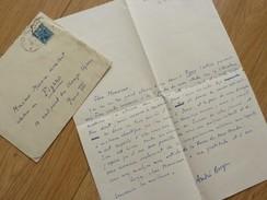 André BERGE (1902-1995) Médecin. PSYCHANALYSTE. Psychologie. APRIM. AUTOGRAPHE - Autographs
