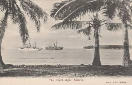 Samoa  - The Beach Apia  -  - 2 Scan - Samoa
