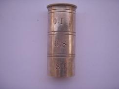"""Tube Métal Pour """"extrême Onction"""" 1ére Guerre (Français Ou Allemand ??) - 1914-18"""