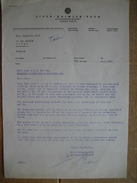 STEYR 1964 - STEYR - DAIMLER - PUCH - Aktiengesellschaft Werke Steyr - Letter + Adertising Leaf - Autres