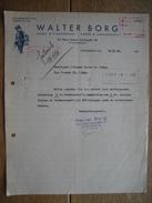 STOCKHOLM 1938 - WALTER BORG - Vapen & Ammunition, Sport & Fiskredskap - Autres