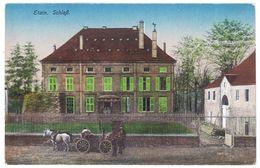 Cpa Etain - SchloB  ( Schloss ) ( Attelage ) - Etain