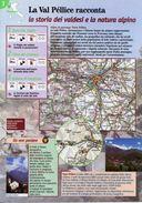 Piemonte - Depliant SENTIERI DEL TOURING, LA VAL PELLICE RACCONTA, STORIA DEI VALDESI E NATURA ALPINA - Sent-tou - Dépliants Turistici