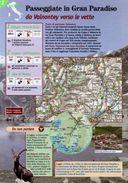 Valle D'Aosta - Depliant SENTIERI DEL TOURING, PASSEGGIATE IN GRAN PARADISO DA VALNONTEY VERSO LE VETTE - Sent-tou - Dépliants Turistici