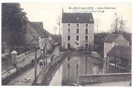 Cpa  Neuvy Sur Loire - Usine électrique - Autres Communes