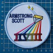 NASA Space Mission Gemini 8 Astronauts Armstrong Scott Patch On Embroidery - Patches