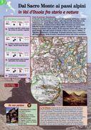 Piemonte - Depliant SENTIERI DEL TOURING, DAL SACRO MONTE AI PASSI ALPINI IN VAL D'OSSOLA FRA STORIA E NATURA - Sent-tou - Dépliants Turistici