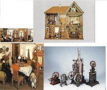 4146p: 3 AKs Spielzeugmuseum Nürnberg, Ungelaufen - Ansichtskarten