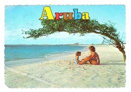 ARUBA - ARUBA'S FINEST BEACH - NETHERLANDS ANTILLES - VIAGGIATA 1975  - (895) - Aruba